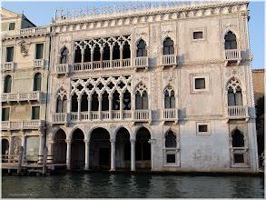 Photo: Venecia. El Gran Canal. Ca´D´Oro htp://www.viajesenfamilia.it/