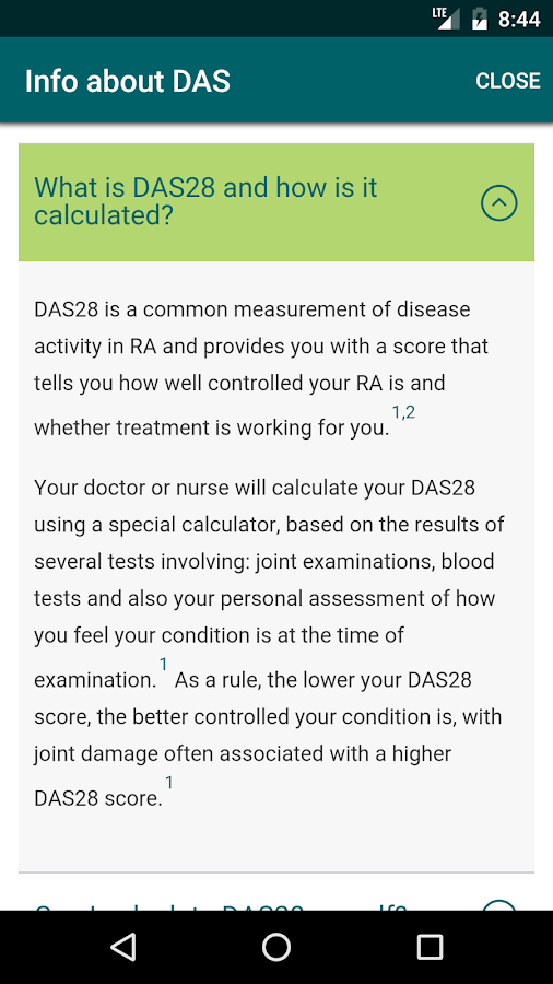Know your DAS- screenshot