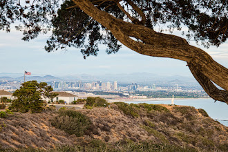 Photo: SPIE Medical Imaging 2014 - San Diego viewed from Cabrillo National Monument