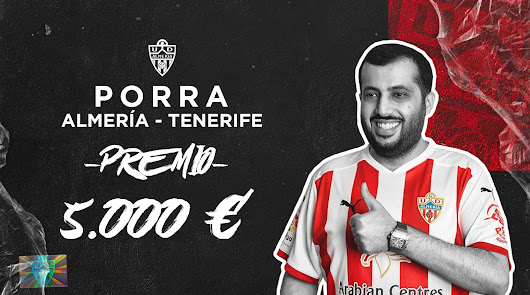 Gana 5.000 con la porra del Almería