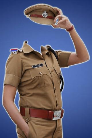 Women Police Photo Maker