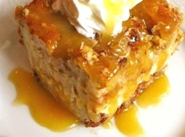 Coconut Bread Pudding With Dried Apricots Recipe