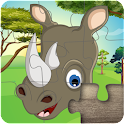animali puzzle per bambini icon