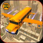 Flying School Bus Sim 2017 Icon