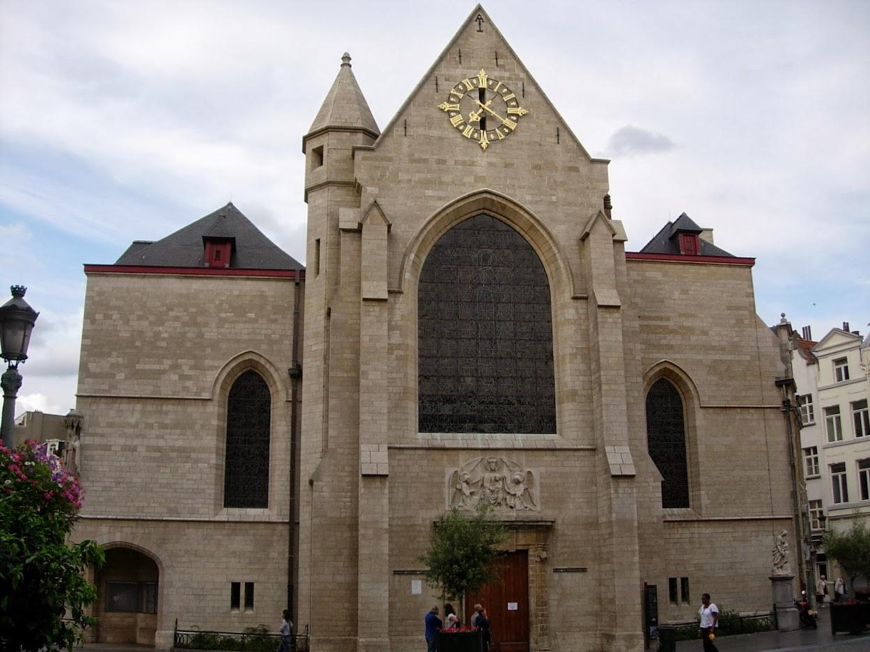 Eglise Saint-Nicolas à Bruxelles