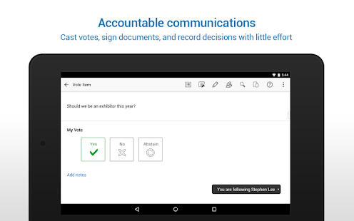 Azeus Convene Board Portal- screenshot thumbnail