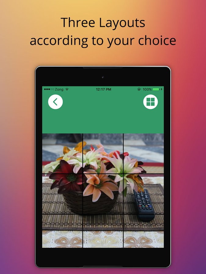 Screenshots of Insta Grid For Instagram for iPhone