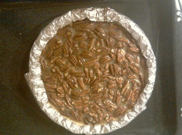 Hint* Cover the edges of pie with aluminum foil during the first hour of...