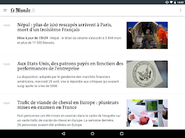 Screenshot of Le Monde, l'info en continu