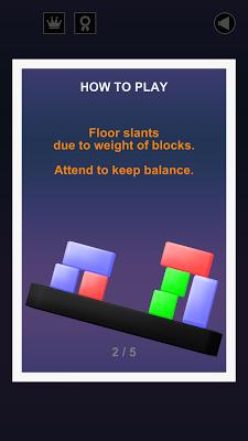 Physitris : Block Physics Game - screenshot