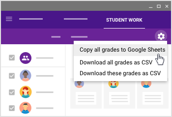 Download grades