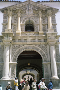Eingang zur Casa de la Moneda