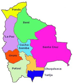 Die Departamentos Boliviens