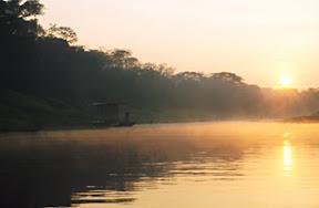 Flusslauf im Departamento Beni