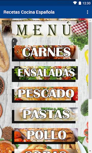 Recetas Cocina Espau00f1ola 1.63 screenshots 1