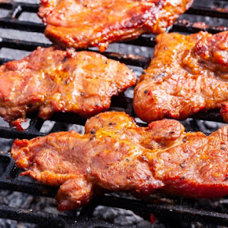 Honey Barbecue Pork Steaks