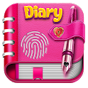 Diary with lock - My journal, Personal Diary App icon