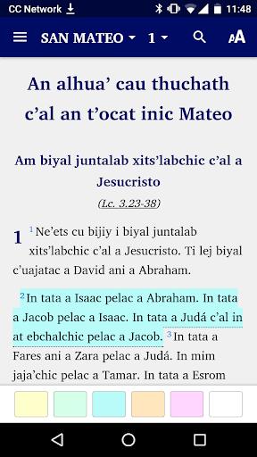 Huasteco San Luis Potosu00ed - Bible 6.1 screenshots 1