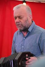 """Photo: Steve Turner sings """"Lampadusa"""""""