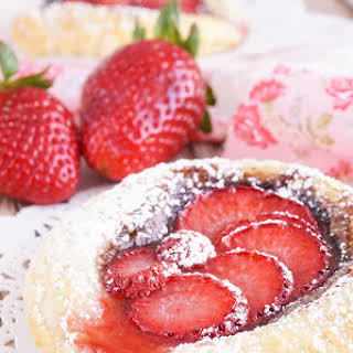 America's Strawberry Nutella Tarts.
