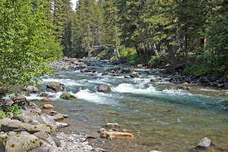 Photo: Soda Butte in the Park- Mad River Outfitters Montana Trip