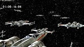 Deleted Scene: X-Wings Prepare for Lightspeed