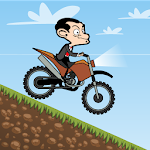 Bean MotoX - Mr Cartoon Racing Icon