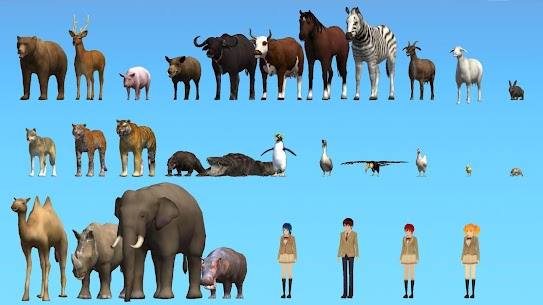 Animal School Simulator. girls and animal life  Apk Download For Android and Iphone 4