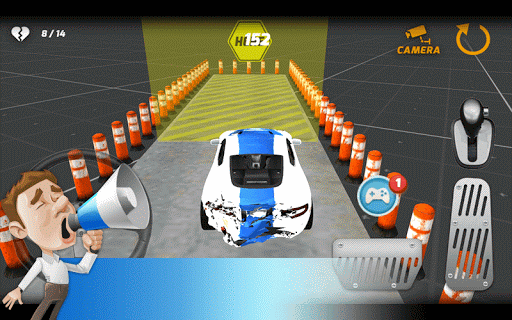 Police Drive Parking 3D