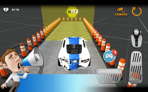 경찰 주차 드라이브 3D
