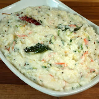Yogurt Rice (Curd Rice, Mosaranna).
