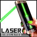 App puntatore laser simulato icon