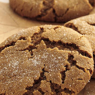 Soft Molasses Cookies.