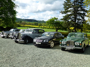 Photo: Parked up at the Overton Grange Hotel & Spa
