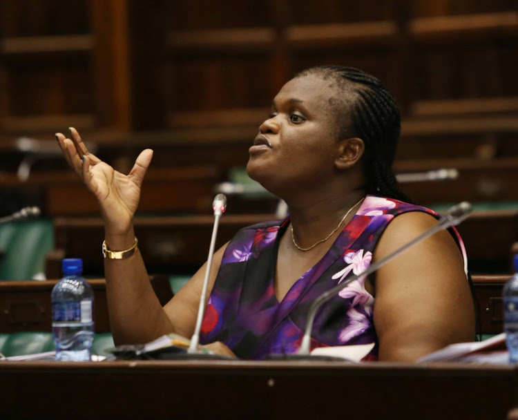 Parliament's co-operative governance committee chair Faith Muthambi has slammed municipalities for not taking action against officials who invested municipal money in the now-defunct VBS Mutual Bank.