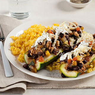 Southwestern Stuffed Squash Recipe