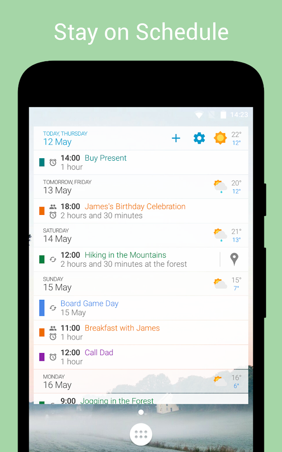 how to clear google calendar on android