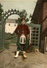 Photo: Donald's other love was the military and at 12, he joined the Copper Cliff Highlanders.