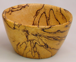 Photo: Spalted Maple Bowl. July 2006.
