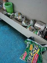 Photo: 開始からまだそんなに時間経ってないのに 空ビール4本と枝豆・・・