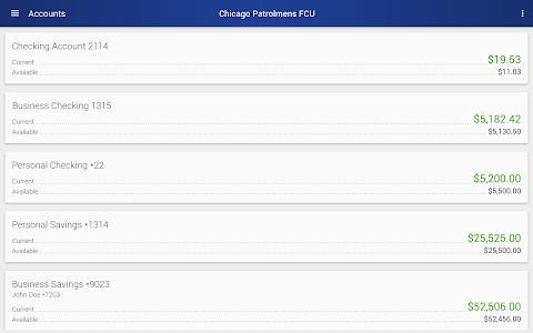 Chicago Patrolmen's FCU screenshot 10