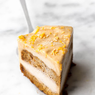 Carrot Cake Ice Cream Cake