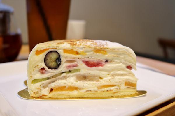 日式甜點 折田菓舖-『忠孝復興站』比HARBS更好吃的水果千層蛋糕
