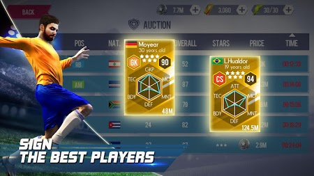 Real Football APK screenshot thumbnail 9