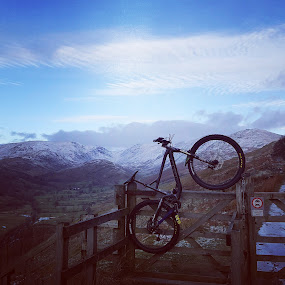 Mtb landscapes by Nick Hogg - Sports & Fitness Cycling ( mountains, lake district, biking, gt, landscape )