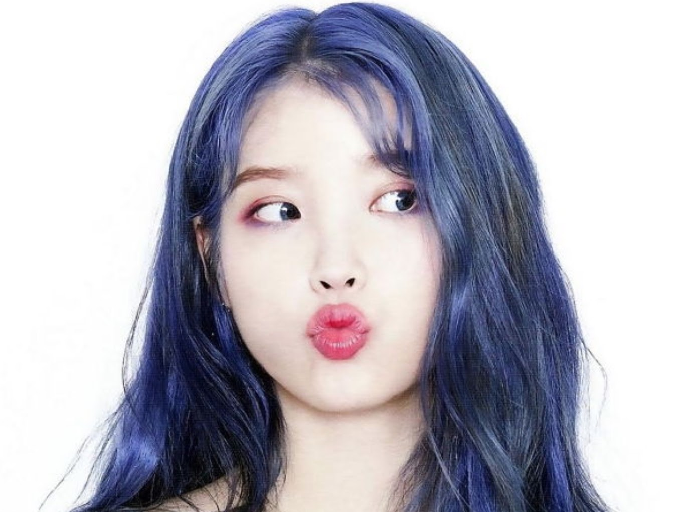 Online Communities Can't Get Enough of IU's Mystical New Hair Color -  kpoplover