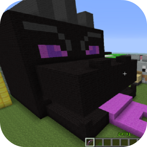 Black fire  Dragon Mod for MCPE