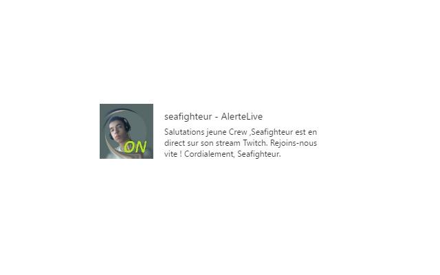 Seafighteur - AlerteLive