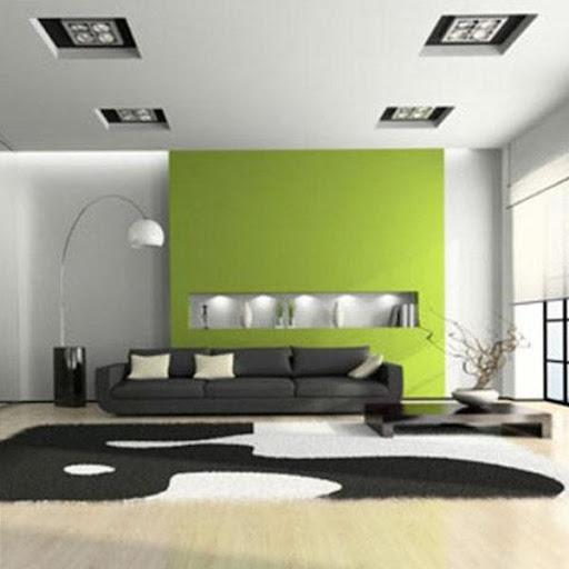 リビングルームのデザイン