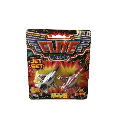 juguete jaru set 2 aviones flite mites